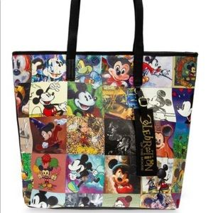 Disney Loungefly Tote NWT
